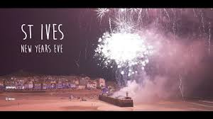 new year st st ives new years 2016 17 in 4k and including fireworks at