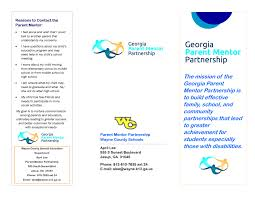 Sample Resume Youth Mentor by Sample Brochures And Introductions Parent Mentorsparent Mentors
