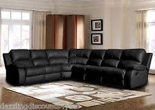 Sectional Sofas With Recliners by Leather Sectional Recliner Sofas Loveseats U0026 Chaises Ebay