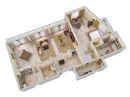 Oceanview House Plans by 3d Floor Plans Hilton Barbados Resort