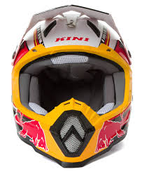 motocross helmet red bull kini red bull helmet revolution black red white 2016 maciag offroad