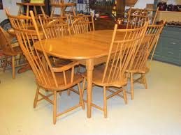 Windsor Dining Room Chairs Dining Room Set Table U0026 6 Chairs 2 Leaves S Bent Brothers