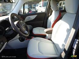 jeep renegade interior 2016 bark brown ski grey interior 2016 jeep renegade limited 4x4 photo