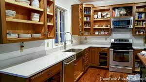 how to achieve flawless white kitchen cabinets farm fresh