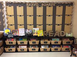 new reading center in my room love the bulletin boards and the