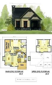 cabin with loft floor plans small house plans with loft unique house plans for cabins and small
