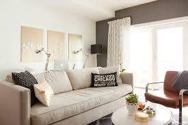 Benjamin Sofa Kendall Charcoal Contemporary Living Room Benjamin Moore