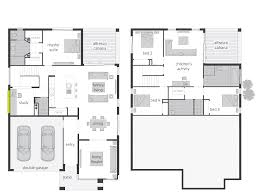 the parklands split level floor plan by mcdonald jones