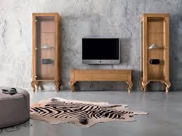 Tv Stand Furniture Luxury Laquered Walnut Tv Stand Furniture Minimal Baroque