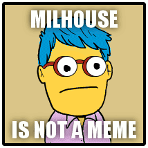 Millhouse Meme - running from elevators milhouse is a meme