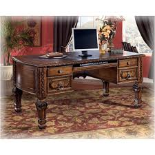 ashley furniture desks home office h543 27 ashley furniture casa mollino home office leg desk