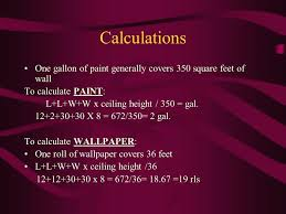 one gallon of paint covers calculations one gallon of paint generally covers square feet of wall