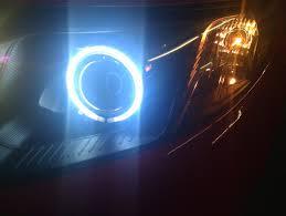 halloween light projector 2010 2011 kia forte ccfl halo led strip projector headlights