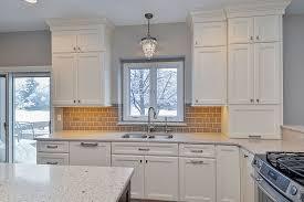 Installing Kitchen Tile Backsplash Granite Countertop Installing Kitchen Cabinets Diy Backsplash
