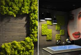 Indoor Garden Wall by The Exquisite Living Green Wall