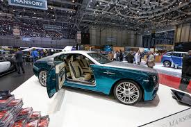mansory cars for sale 5 wildest paint jobs at the 2014 geneva auto show glitter spice