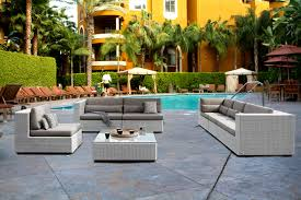 amazing of white resin wicker patio furniture outdoor decor images