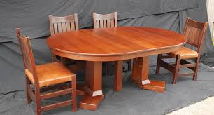 voorhees craftsman mission oak furniture exceptional stickley