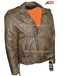 mens leather motorcycle jackets mens distressed brown leather motorcycle jacket with black leather