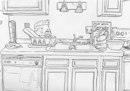 Kitchen Drawings Kitchen