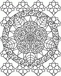 fun original coloring pages color heart