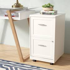 Mobile File Cabinet Zipcode Design Gigi 2 Drawer Mobile File Cabinet Reviews Wayfair