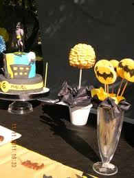 Batman Table Decorations Sale Complete Batman Inspired Party Package By Thedreamerydesigns