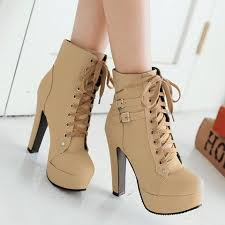 s shoes boots heels trendy s high heel boots with buckles and solid color design