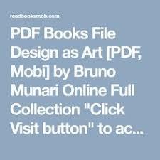 design as art bruno munari bruno munari s supplement to the italian dictionary 1963 bruno