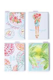 Lilly Pulitzer Home by Cute Cards U0026 Stationery Shop Home Office Desk Decorations