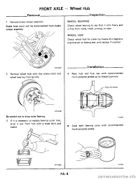 nissan pathfinder ball joint replacement nissan 300zx 1984 z31 front suspension workshop manual