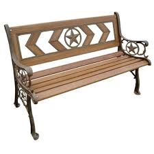 Outdoor Patio Furniture For Sale In South Africa Parkland Heritage Texas 49 1 2 In Natural Wood Tone Patio Park