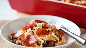 pizza pasta bake recipe bettycrocker com