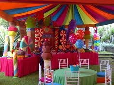 candyland party candy land inspired themed party for a sweet 16th by klm events