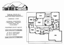 4 bedroom 1 story house plans one story house plans 4 bedrooms elegant 4 bedroom 1 story house