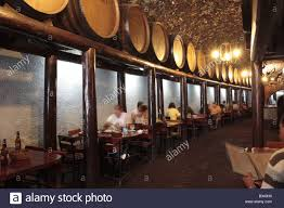 the dining area of the bodegon tamanca a restaurant attached to a
