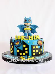 the sensational cakes cute cartoon batman customized cake