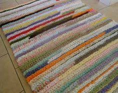 Rag Rug Directions Crochet Rag Rug Rectangle Crochet Rectangle Rag Rug Pattern