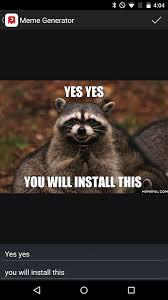Meme Generator Raccoon - best meme generator by memeful android apps on google play