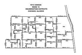 40th ward chicago map 1910