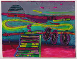 a splash of color paintings by willie marlowe carmen u0027s café