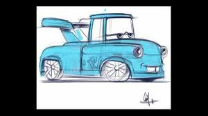 drift cars drawings pixar cars tokyo mater drawing 4 year old commentary youtube