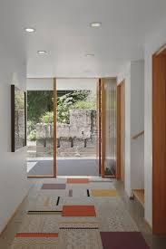 Wide Hallway Decorating Ideas Warm Modern Home Full Of Concrete And Wood Details Design Milk