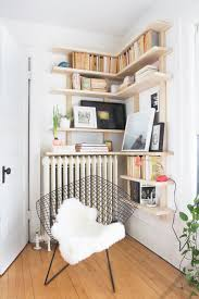 Redford White Corner Bookcase by Furniture Exciting White Corner Bookshelf With Cozy Silver Ikea