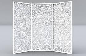 Screen Room Divider Interesting Tri Fold Screen Room Divider 40 In Metal Bookcase Ikea