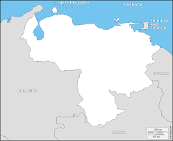 Blank Outline Map Of Trinidad And Tobago by Venezuela Free Map Free Blank Map Free Outline Map Free Base