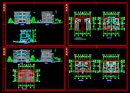 free architectural design villa architectural design drawings free