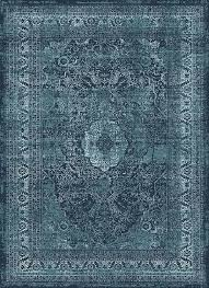 Blue Area Rugs Tayse Concept Cnc1003 Blue Area Rug Transitional Rugs Carpetmart