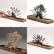 these tree pop up books are wonderful they re made of paper and a
