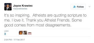 nc legislator tweets bible verses atheists responding